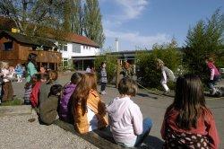 Ein Schulhof wie im Taka Tuka Land